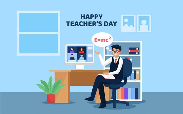تبریک روز معلم انلاین